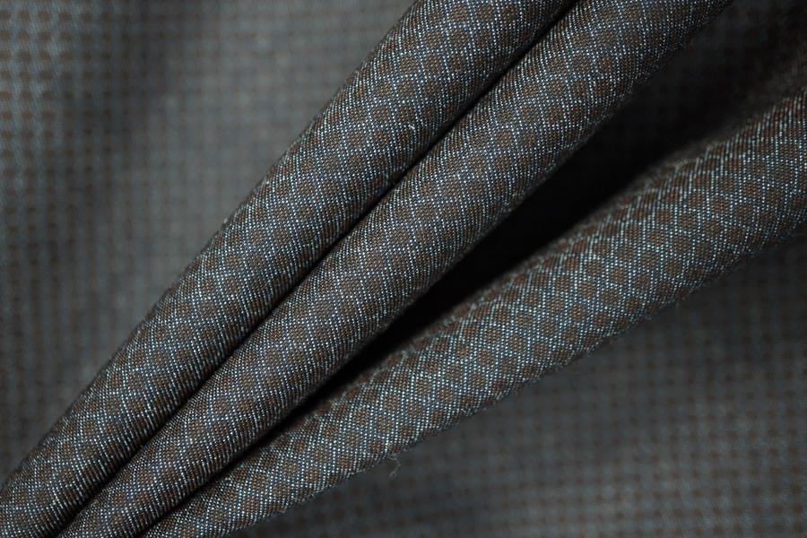 ОТРЕЗ 2,5 М Рубашечный хлопок под джинсу с принтом PRT-A7 13031910-1