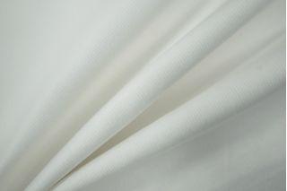 Вельвет хлопковый белый PRT-E2 14031901