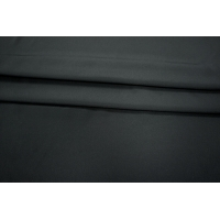 Крепдешин шелковый черный PRT 058-Н2 14031905