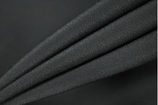 Крепдешин шелковый черный PRT1-D5 14031905