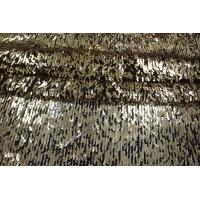 ОТРЕЗ 2,1М Пайетки золотые на сетке PRT-C3 06021921-1