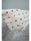 ОТРЕЗ 2.8 М Батист с вышивкой маленькие цветочки PRT-C2 06021933-1