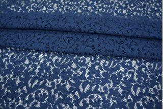Гипюр синий хлопковый PRT-ВВ3 09021903