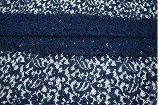 Гипюр темно-синий хлопковый PRT-J3 09021907
