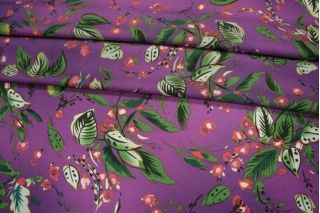 Блузочный креп ягоды PRT-F4 09021911