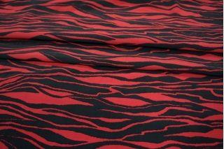 Креповая вискоза зебра LEO-Н5 18021902