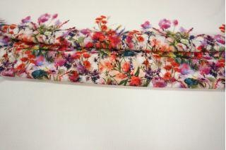 Трикотаж фактурный цветы КУПОН LEO-L3 18021915