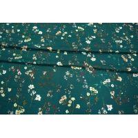 Вискоза плательно-блузочная с мушками цветы LEO-A7 26031908