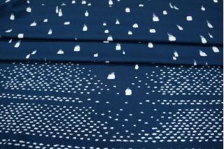 Хлопок костюмный синий КУПОН PRT-C6 08021901