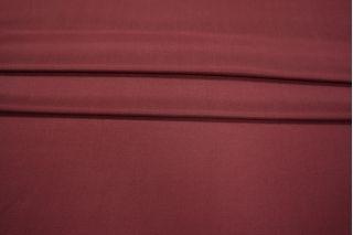 Шелк с хлопком плательный бордо PRT-H2 21021903