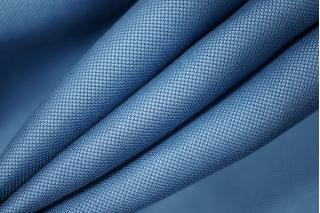 Тонкий костюмный шелк с вискозой голубой PRT-H2 21021905