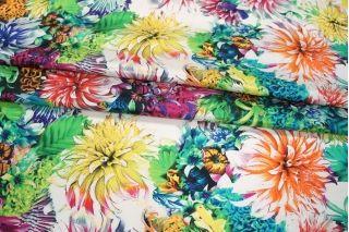 Вискоза плательная Monnalisa цветы PRT-H4  21021914