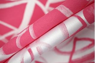Жаккард двусторонний розовый PRT-D3 25021906