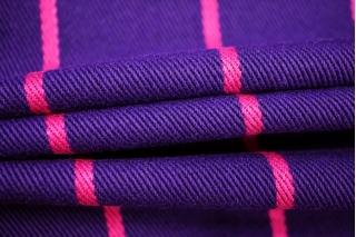 Джинса в полоску фиолетовая PRT-B7 24031916
