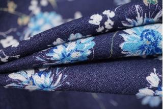 Тонкий вискозный креп цветы PRT 073-Н4 24031930