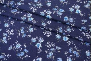 Тонкий вискозный креп цветы PRT1-F3 24031930