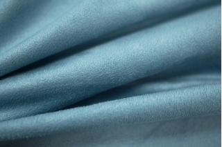 Замша трикотажная односторонняя серо-голубая PRT 031-I3 25031908