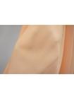 Крепдешин тонкий шелковый персик PRT-С5 20031909