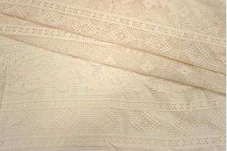 Кружево хлопковое белое Pizval PRT-C3  27031901