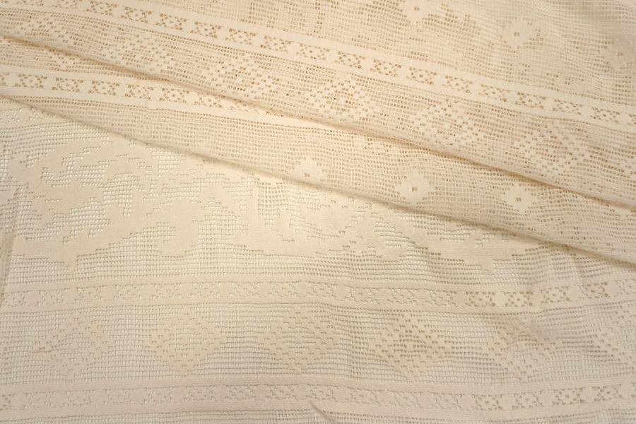Кружево хлопковое белое Pizval PRT-K2  27031901