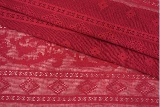 Кружево хлопковое ягодное Pizval PRT-O40 27031902