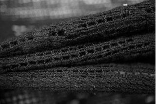 Кружево хлопковое черное Pizval PRT1-C3 27031903
