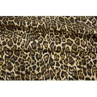 ОТРЕЗ 2,3М Репс костюмный хлопковый леопард Cavalli PRT-B4 27031932-1