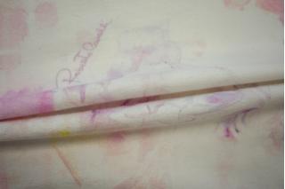 Футер хлопковый с цветами Cavalli PRT1-C6 28031914