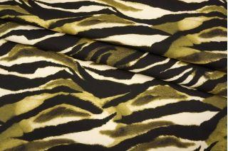 Футер хлопковый полоски зеленые Cavalli PRT1-C6 28031916