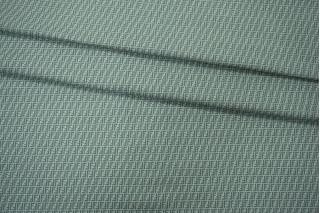 Трикотаж хлопковый мятный Fendi PRT-C7 28031919