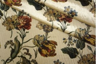 Бархат трикотажный цветы LEO 099-E3 08051908