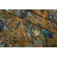 Плательная джинса птицы и цветы PRT-C6 08051910