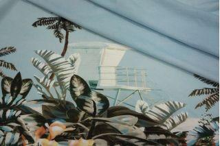 Вискоза рубашечная пальмы LEO 101-H3 08051911