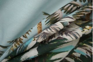 Вискоза рубашечная пальмы LEO 101-H4 08051911