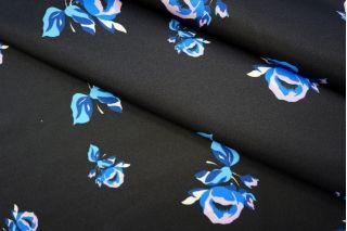 Плательный полиэстер с цветами PRT-F4 01051935