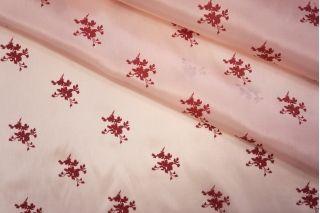 Подкладочная вискоза розовая в цветочек PRT-A6 02051914