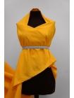 Репс костюмно-плательный желто-оранжнвый PRT-В4 02051921