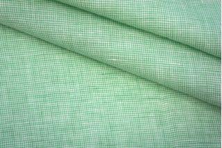 Рубашечный лен с хлопком зеленый PRT-G5 03051927
