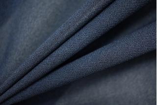 Шифон-креп темно-синий вискозный PRT-A2 03051933