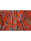 Твил плательный цветы на красном PRT-Н5 21031915