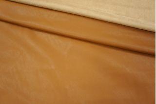 ОТРЕЗ 1.8 М Кожзам с замшей рыже-коричневый PRT 024-I3 22031909-1
