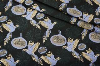 Жаккард костюмный птицы PRT F2 22031913