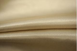 Атлас шелковый светлый золотистый беж PRT 038-G2 27031933
