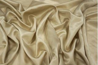 Атлас шелковый светлый золотистый беж PRT1-D5 27031933