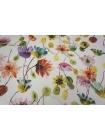 Тонкий вискозный креп цветы PRT-Н5 21031903