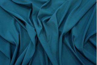 Крепдешин шелковый темно-бирюзовый PRT-Н3 21031906