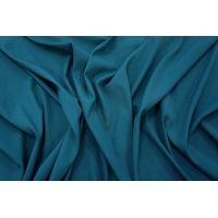 Крепдешин шелковый темно-бирюзовый PRT1 21031906
