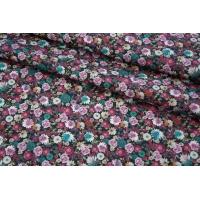 Плательная джинса цветы PRT-F6 24031924