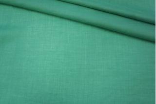 Тонкий лен с хлопком зелено-бирюзовый PRT-С2 25031901