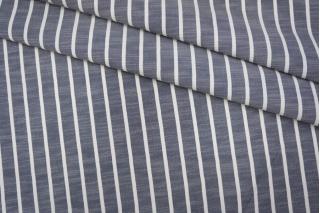 Костюмный лен с вискозой в полоску PRT1 25031914